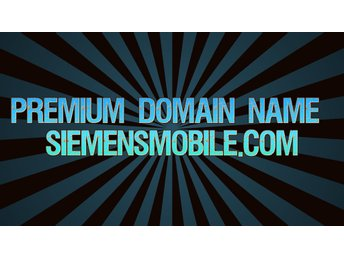Premium Domain Name Siemensmobile.com