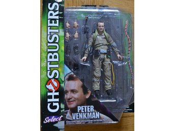 "Ghostbusters Peter Venkman 7""  Diamond Select Actionfigur MIB"