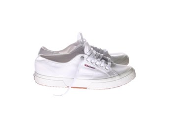 Superga, Sneakers, Strl: 42, Vit