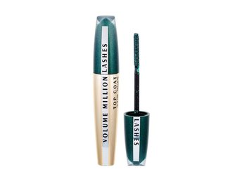 L'Oreal Volume Million Lashes Glitter Top Coat Green Mascara