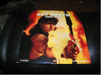 Hot shots!  Part Deux - 1st  Laserdisc