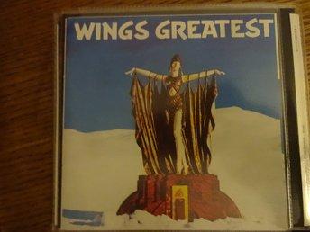 Wings - Greatest Hits, CD i mycket bra skick Pa   (334771548