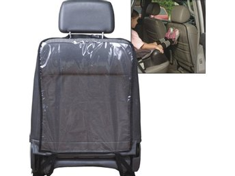 Car Auto Care Seat Back Protector Cover For Children Svart