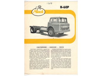 Mack Cab-forward N-60P  1959 ?