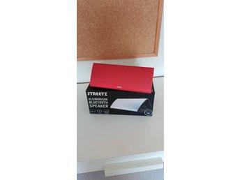 STREETZ Aluminium Bluetooth Speaker (340326937) ᐈ Köp på Tradera 1bae5d31559e5