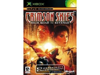 CRIMSOM SKIES - HIGH ROAD TO REVENGE (komplett) till Microsoft Xbox