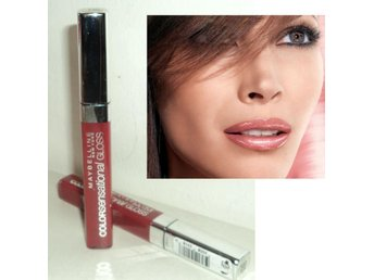 RED LOVE Maybelline COLOUR COLOR SENSATIONAL Läppglans Röd #560 REA!