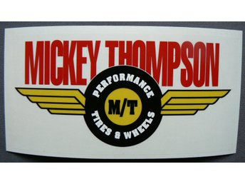 Klistermärke Mickey Thompson