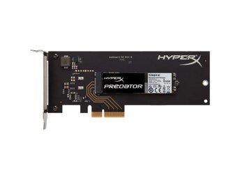 Kingston 240GB SSD HyperX Predator PCIe Gen2 x4 (HHHL) - Höganäs - Kingston 240GB SSD HyperX Predator PCIe Gen2 x4 (HHHL) - Höganäs