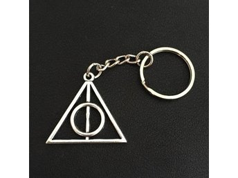 Nyckelring  Dödsrelikerna - Deathly Hallows - Harry Potter SILVER