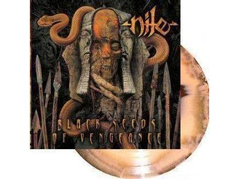 NILE-Black Seeds Of Vengeance-Ny LP LTD 1700ex Brown/Orange-Download Code-Death