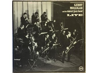 Gerry Mulligan The Concert Jazz Band LIVE -- 1961 Verve 2367 174