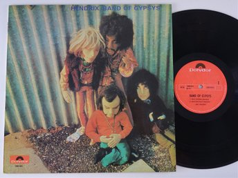 Jimi Hendrix - Band of gypsys RARE NORWAY PRESS!