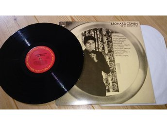Leonard Cohen, The Best of 197 US skiva omslag ex skiv nr pc34077