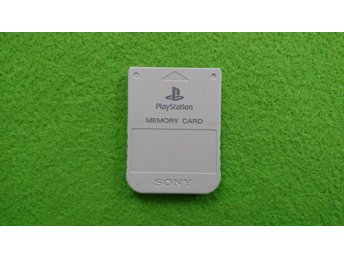 Original Minneskort PS1 Playstation 1 Memory Card