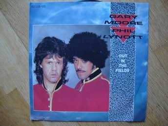 "GARY MOORE & PHIL LYNOTT ""OUT IN THE FIELDS"""