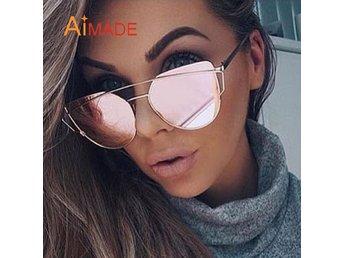 Sommar 2017 Mirror Solglasögon Ombloggade Bloggerska Fashionista *Pink Mirror* - Angered - Sommar 2017 Mirror Solglasögon Ombloggade Bloggerska Fashionista *Pink Mirror* - Angered