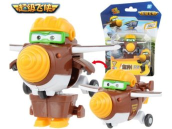 Super Wings Mini Transformer Doodoo - Mästerflygarna ! Express leverans !