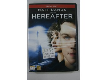 Hereafter, DVD-film
