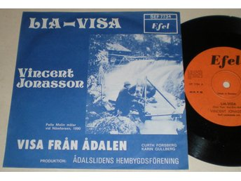 Vincent Jonasson 45/PS Lia-Visa (My Bonnie) 1977 VG++