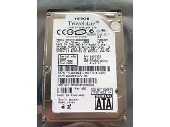 Javascript är inaktiverat. - Riala - Hårddisk till bärbar laptopHitachi Notebook 60GB 8MB 7200rpm SATA model HTS721060G9SA00Fungerar, testad och formatterad - Riala