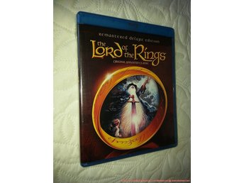 Lord of the Rings (Animerad) (2-disc) 1978- Ralph Bakshi (Sagan om Ringen) + DVD