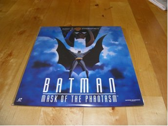 Batman - Mask of the phantasm - Widescreen edition - 2st Laserdisc