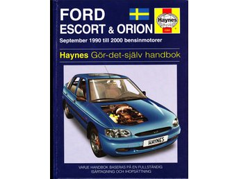 Rep.handbok, FORD Escort/Orion