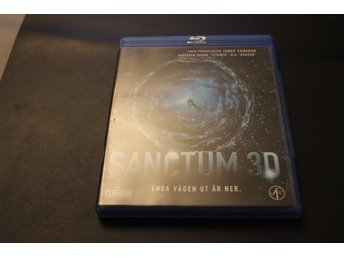 Bluray3D-film: Sanctum 3D