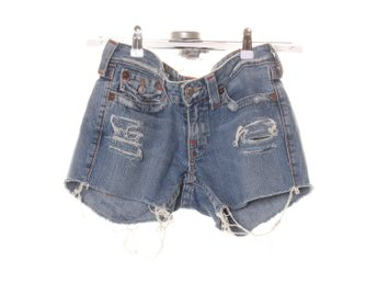 True Religion, Shorts, Strl: 27, Blå