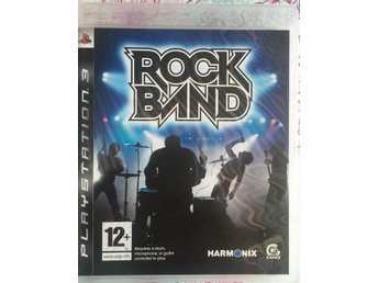 Rock band - Playstation 3/PS3 - Komplett! - MKT FINT SKICK!!
