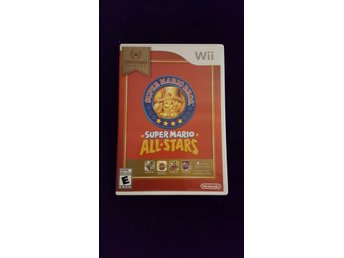 Super mario all stars wii Obs US-import!!