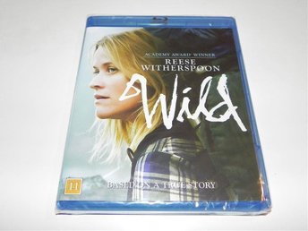 Wild 2014 Reese Witherspoon BLU-RAY NY! INPLASTAD!