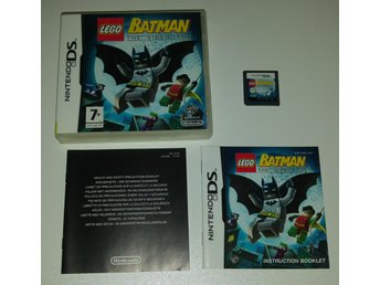 Svensksåld Komplett Batman - The Videogame!