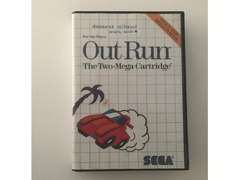 OUT RUN - Sega Master System - Svensksålt