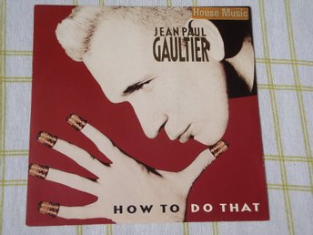 "JEAN PAUL GAULTIER - HOW TO DO THAT 7"" 1989 PARFYM MÄRKE"