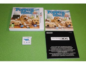 Puppies World KOMPLETT Nintendo 3DS