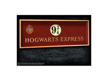 Harry Potter Skylt Hogwarts Express