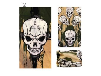 Skullbiker Balaclava Tube Snood Multi Scarf Face Mask Neck