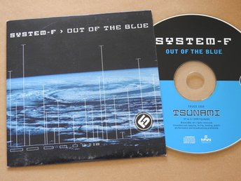 System F - Out of the Blue CD Single 1999