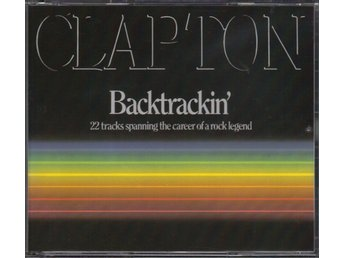 Eric Clapton Backtrackin' (2 CD) 22 tracks spanning the career