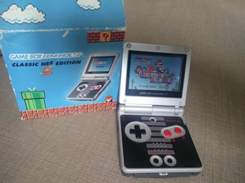 Game Boy Advance SP Classic NES Edition!