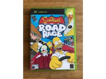 The Simpsons Road Rage till XBOX