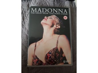 Madonna the girlie show dvd