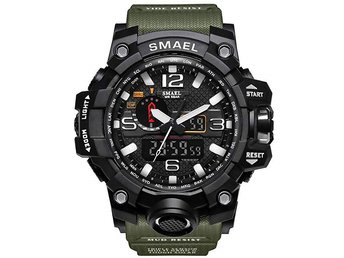 Men's Military Analog Digital Watch Display Sports Watches Multifunctional