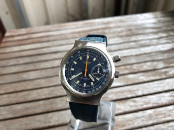 Longines one pusher chronograph , Vintage