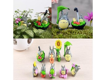 anime manga my neighbour totoro figur set x 9