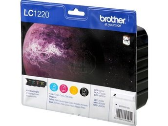 FP Brother LC1220 Value Pack Black, Cyan, Magenta, Yellow (300sid.)