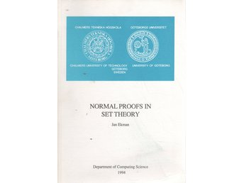 Normal Proofs in Set Theory - Jan Ekman