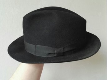 Hatt Fedora - Burselon Silk Gr.58